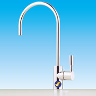 Aeon Chrome Lever Faucet AF155 part of a range of chrome products at Aeon Water Filters