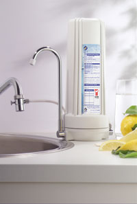 Counter Top Filter System for your house