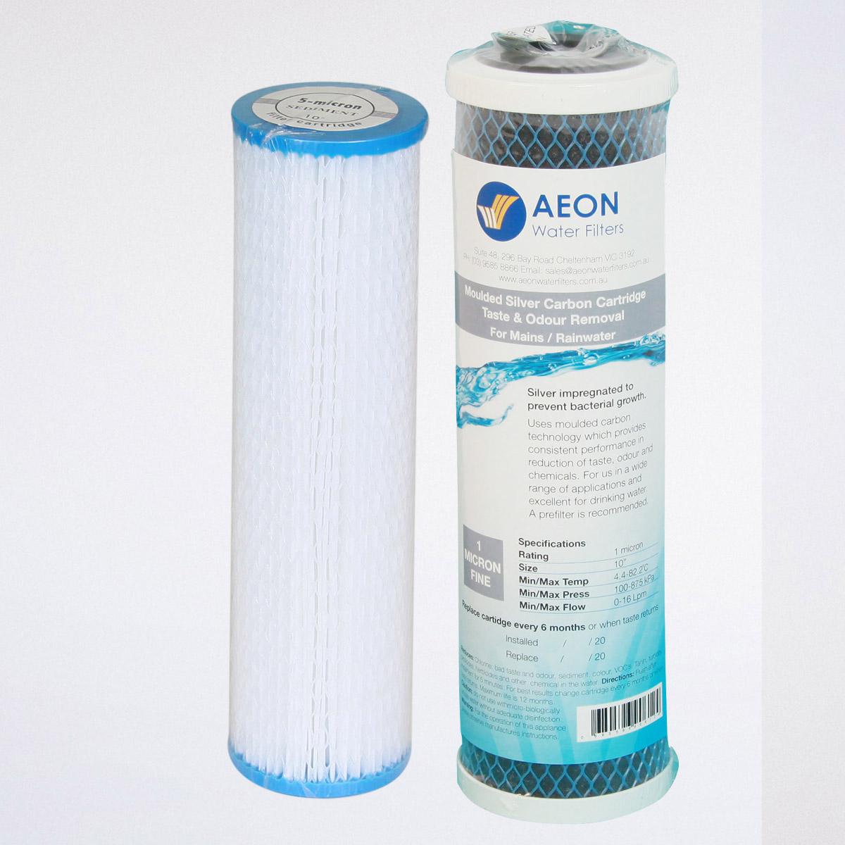 Filter Cartridges - Aeon Water Filters
